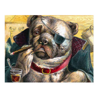 The Bouncer Dog Postcard