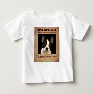 The Bouncy Boston Terrier Baby T-Shirt