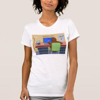 The Boundless Blue Screen T Shirt
