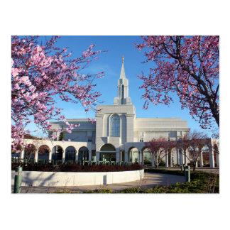 The Bountiful Utah LDS Temple Postcard