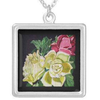 THE BOUQUET PAINTING necklace