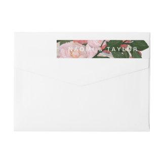 The Bouquet / Wrap Return Address Wraparound Return Address Label
