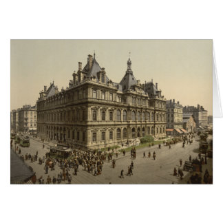 The Bourse, Lyon, France Greeting Card