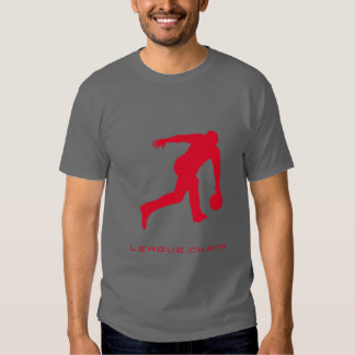 """""""The Bowler"""" Tee by League Champ Bowling (Grey)"""
