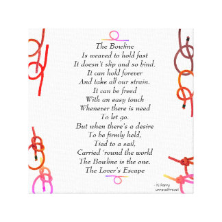 The Bowline - The Lover's Escape Canvas Print