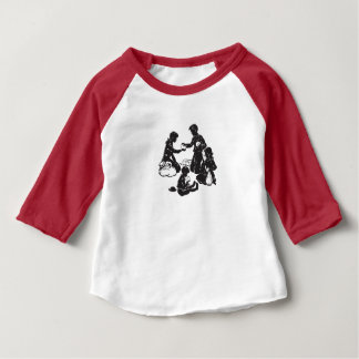 The Boxcar Children: Four Hungry Children Baby T-Shirt