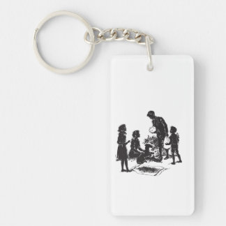 The Boxcar Children: Henry Has Two Surprises Key Ring