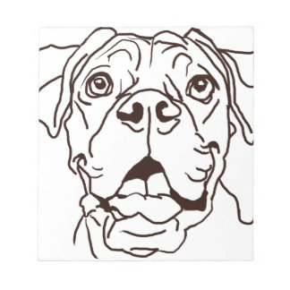 The Boxer Love of My Life Notepad