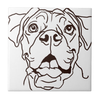 The Boxer Love of My Life Tile