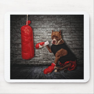 The boxing Pit Mouse Pad