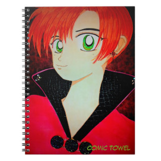 The Boy Who Loved Capes Notebook