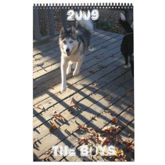 The Boys Wall Calendar