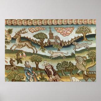 The Bradford Table Carpet Poster