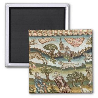The Bradford Table Carpet Square Magnet
