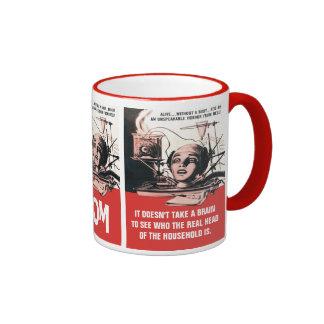 The Brain That Wouldn't Die Coffee Mug