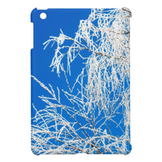 The branches of the tree during the winter iPad mini covers