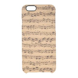The Brandenburger Concertos, No.5 D-Dur, 1721 Clear iPhone 6/6S Case