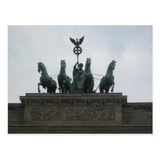 The Brandenburger gate Postcard