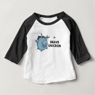 The Brave Unicorn Baby T-Shirt
