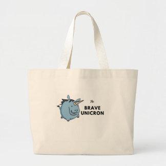 The Brave Unicorn Latest Large Tote Bag
