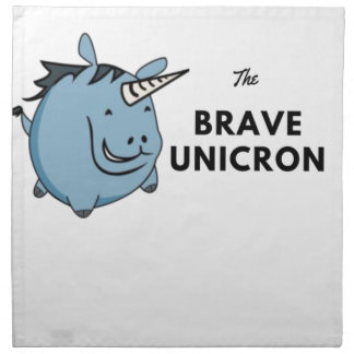 The Brave Unicorn Latest Napkin