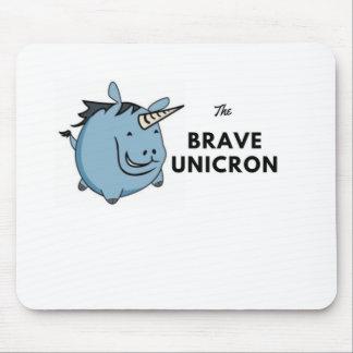The Brave Unicorn Mouse Pad