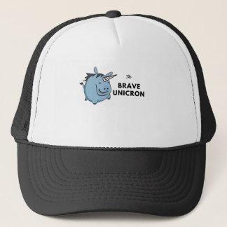 The Brave Unicorn Trucker Hat