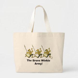 The Brave Winkie Army Tote Bag