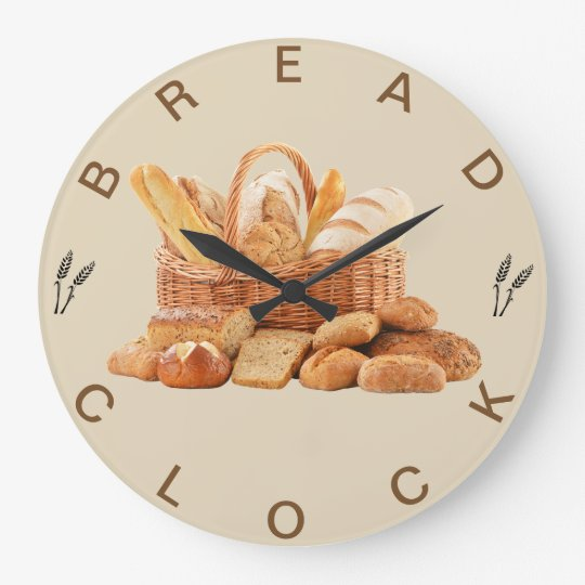 The Bread Wall Clock