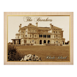 The Breakers Mansion in Newport, Rhode Island Postcard