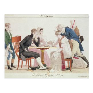 The Breakfast, from 'Bon Genre' Postcard