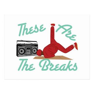 The Breaks Postcard