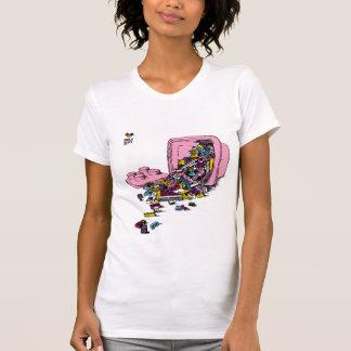 The Brick Dept - Pink Bucket T-Shirt