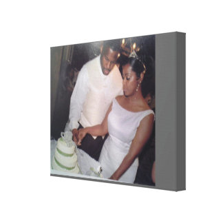 The Bride and Groom Canvas Prints