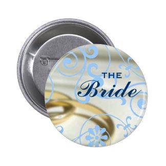 The Bride (Color Customizable) 6 Cm Round Badge
