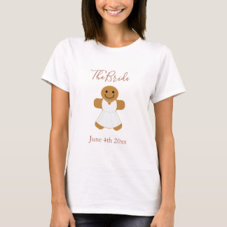 The Bride Gingerbread | Bridal T-shirt