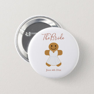 The Bride Gingerbread | Button