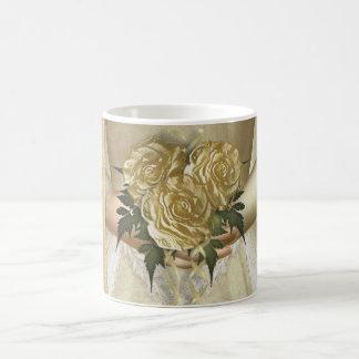 "The Bride ""Hers"" (ivory) Wedding Coffee Mug"
