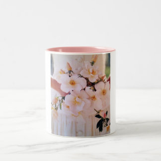 """THE """"BRIDE IN HER GOWN WITH BOUQUET"""" Two-Tone COFFEE MUG"""