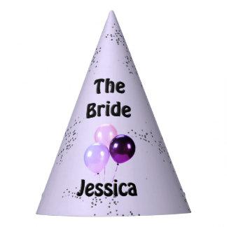 The Bride Lavender Shower Party Hat