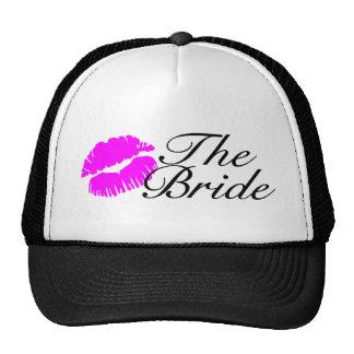 The Bride (Pink Lips) Cap