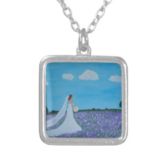 The Bride Silver Plated Necklace