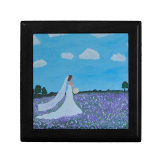 The Bride Small Square Gift Box
