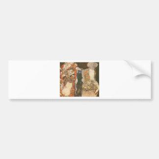 The Bride (unfinished) by Gustav Klimt Bumper Sticker