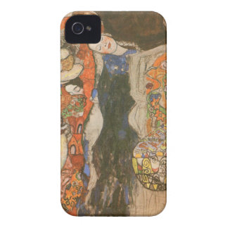 The Bride (unfinished) by Gustav Klimt iPhone 4 Covers