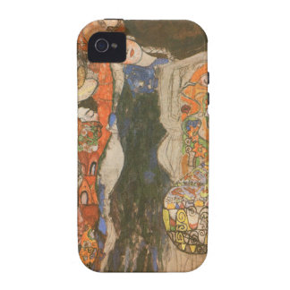 The Bride (unfinished) by Gustav Klimt iPhone 4 Cases