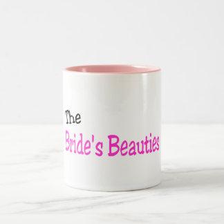 The Brides Beauties Black and Pink Mug