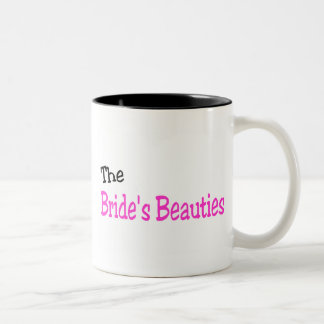 The Brides Beauties (Black and Pink) Mugs