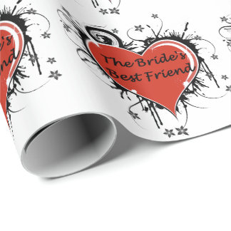 The Bride's Best Friend Wrapping Paper
