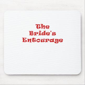 The Brides Entourage Mouse Pad
